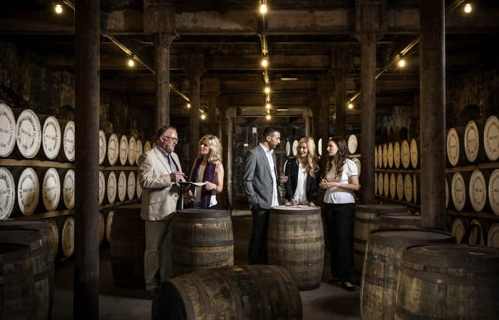 Whiskey Tasters at Bushmills Whiskey Distillery