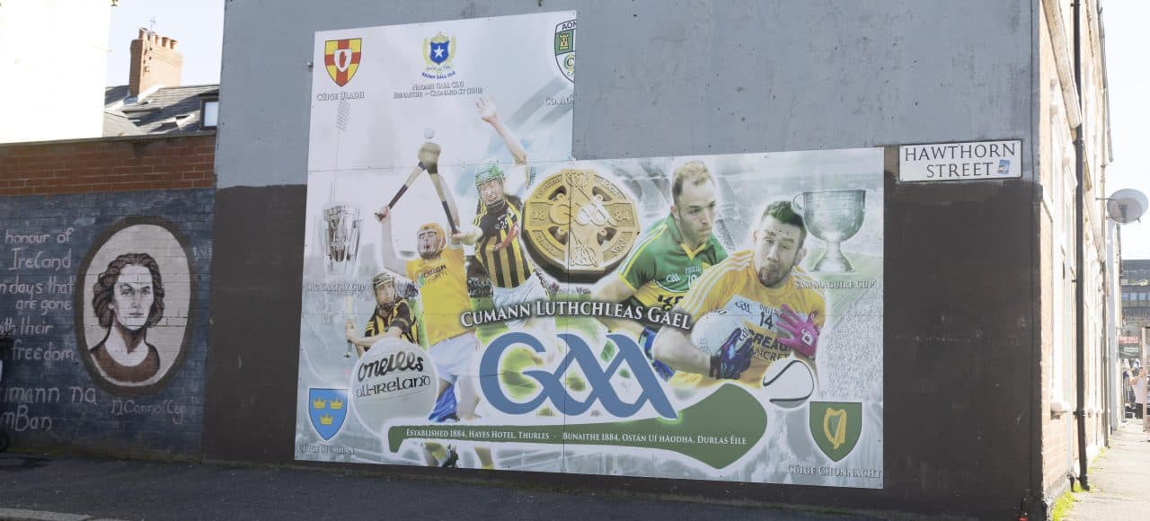 The Gaelic Athletic Association Mural