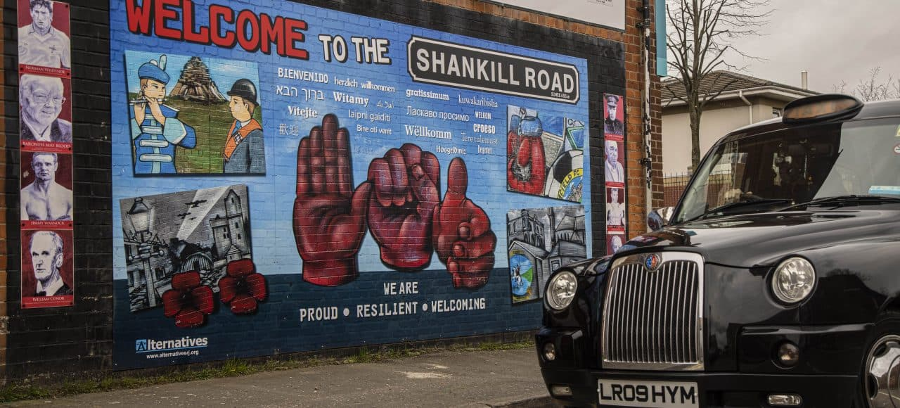 Welcome to The Shankill Road Mural